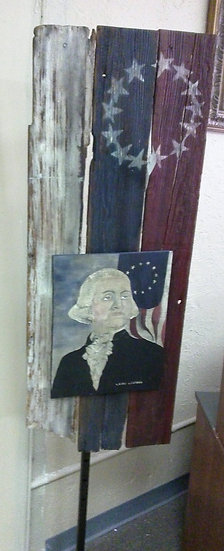 """G. Washington"" Artsit Signed"