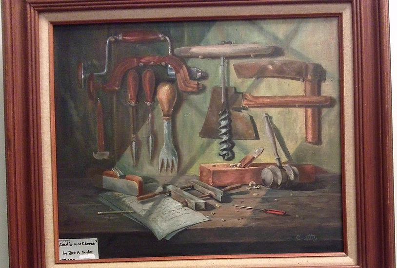 """""""Dad's Workbench"""" by: Joseph A. Sullo"""