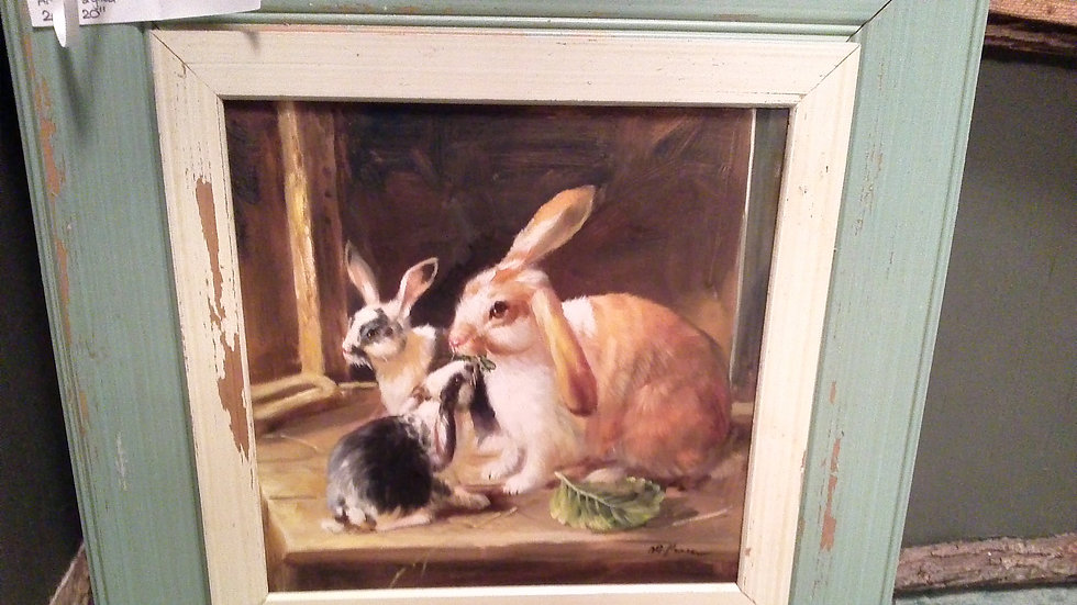 """Rabbits"" Artist Signed"
