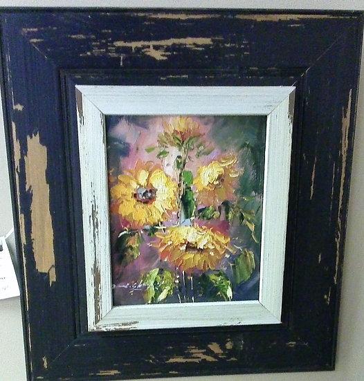 """""""Sunflowers"""" Artist Unknown"""