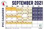 September Sailing School Calendar Published
