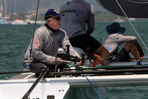 Twenty-one boats and 104 sailors take to the water