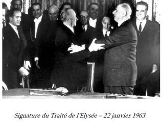 """Exposition """"De Gaulle - Adenauer : les bâtisseurs de l'amitié franco-allemande"""""""