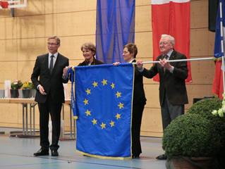 Drapeau européen remis à Aspach