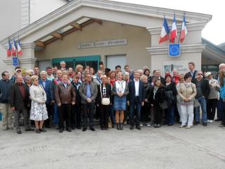 Accueil délégation allemande à Chemillé