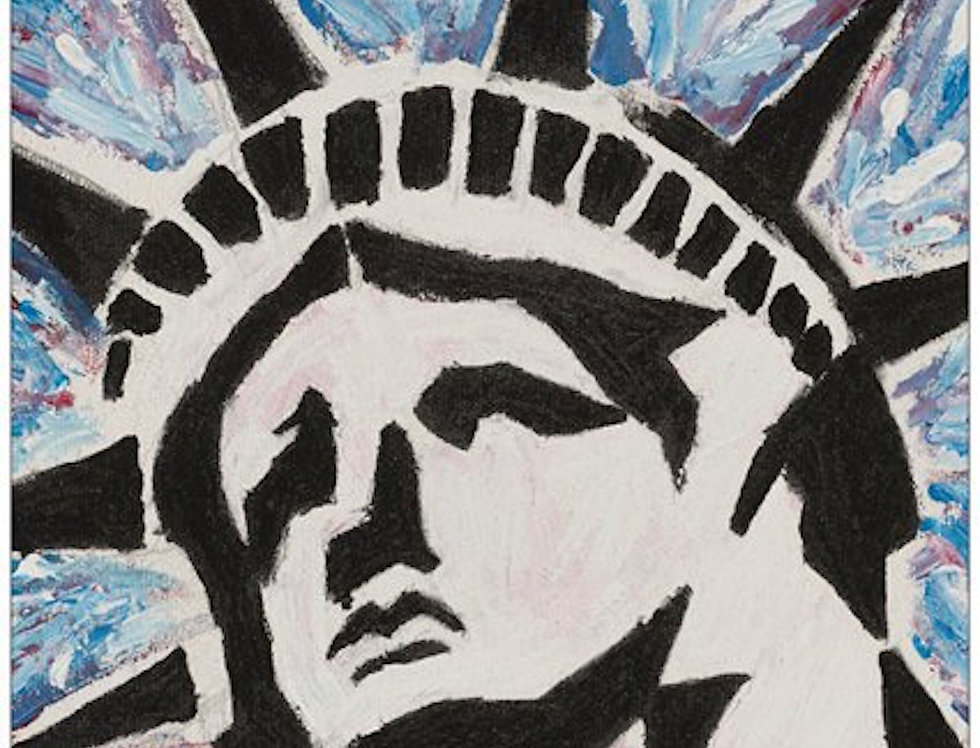 'Lady Liberty' : Post Card
