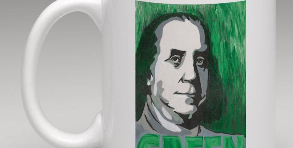 'Green is Good' : Coffee Mug