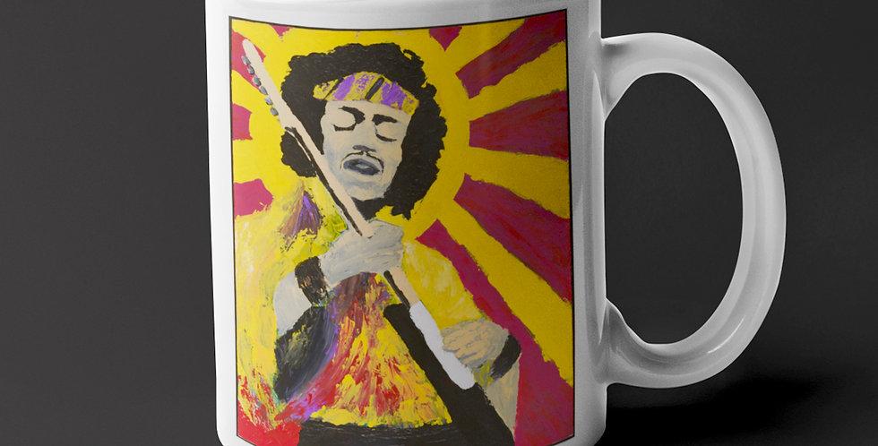 'Bold As Hendrix' : Mug 11oz