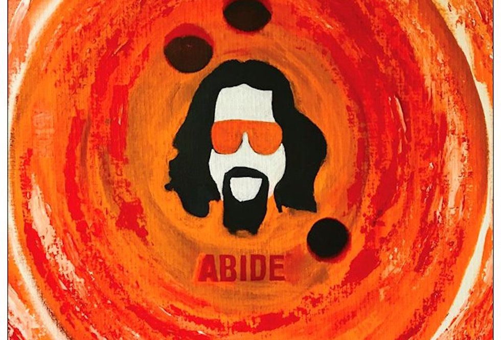 'Abide' : Note Card