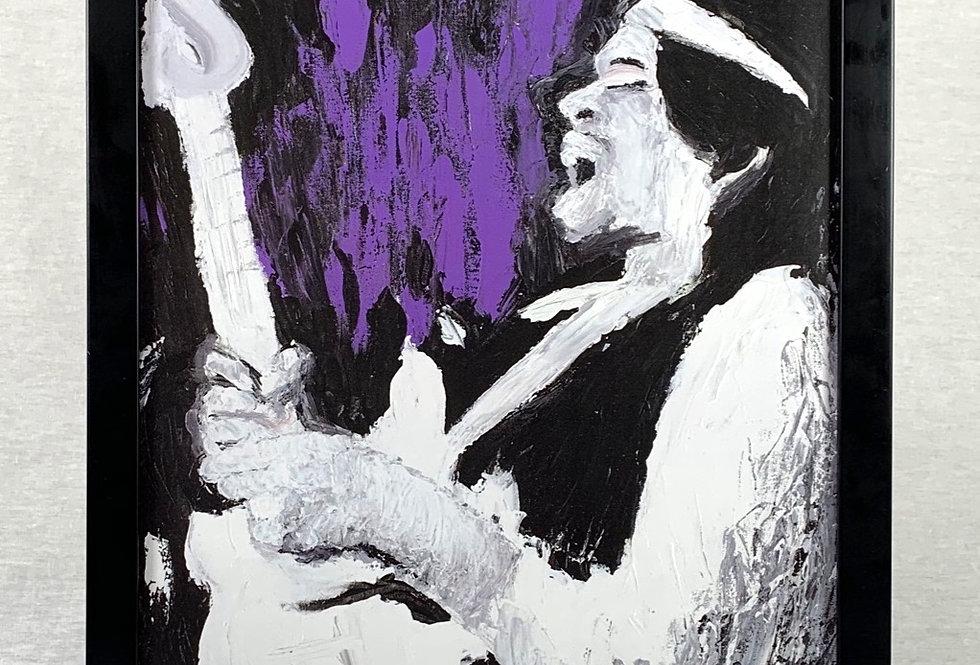'The Haze' : 11x17 Print in a 12x18 Frame