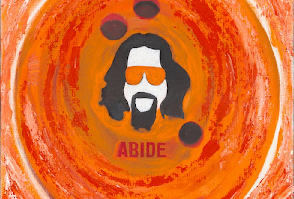 'Abide' : Canvas Print