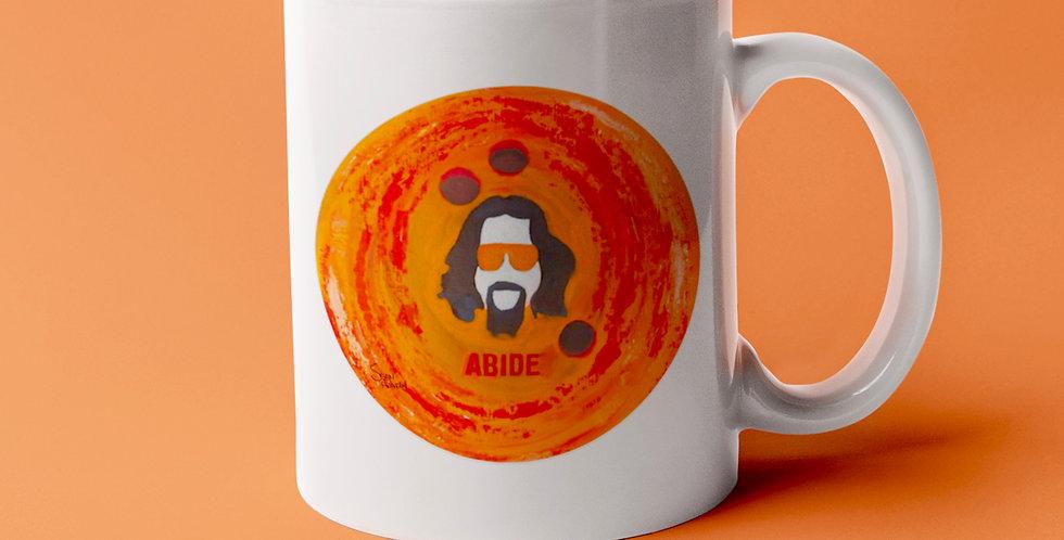 'Abide' : Mug 11oz