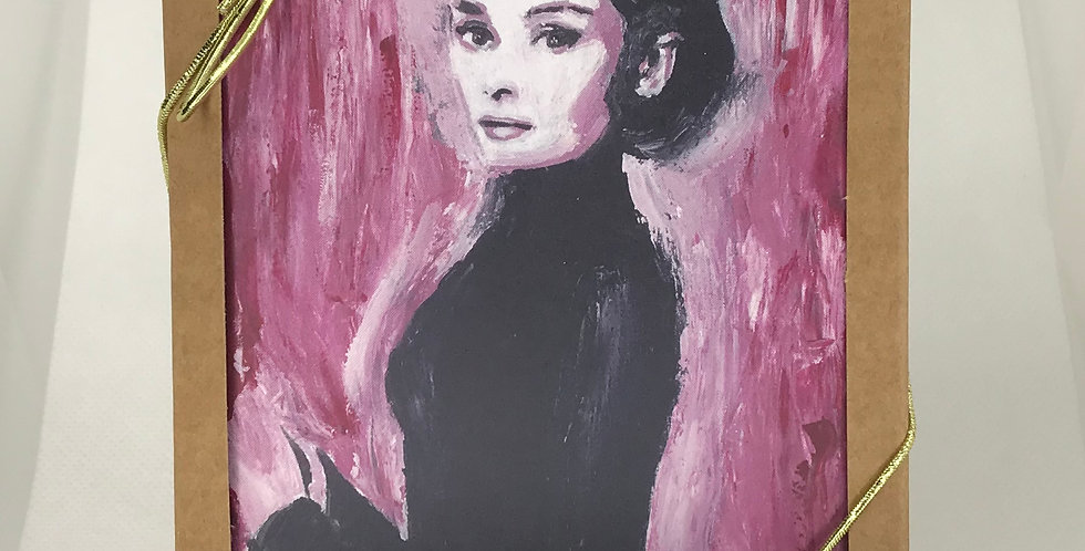 'Audrey' :  Set of 5 Note Cards