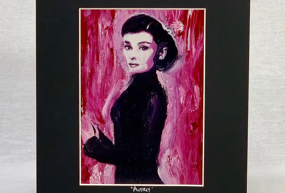 'Audrey' 8x10 Matted Print