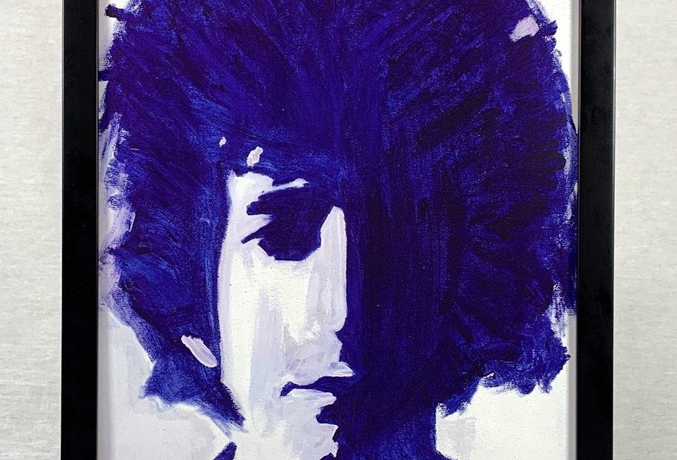 'Bob in Blue' : Framed 11x17 Print