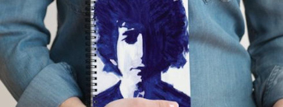 'Bob in Blue' : Notebook