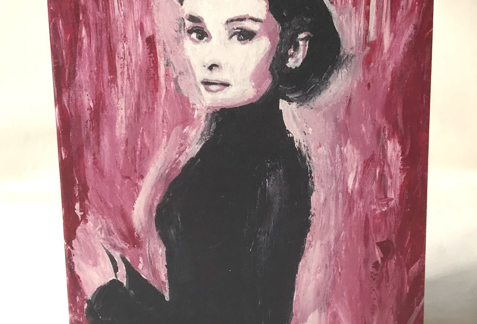 'Audrey' : Note Card