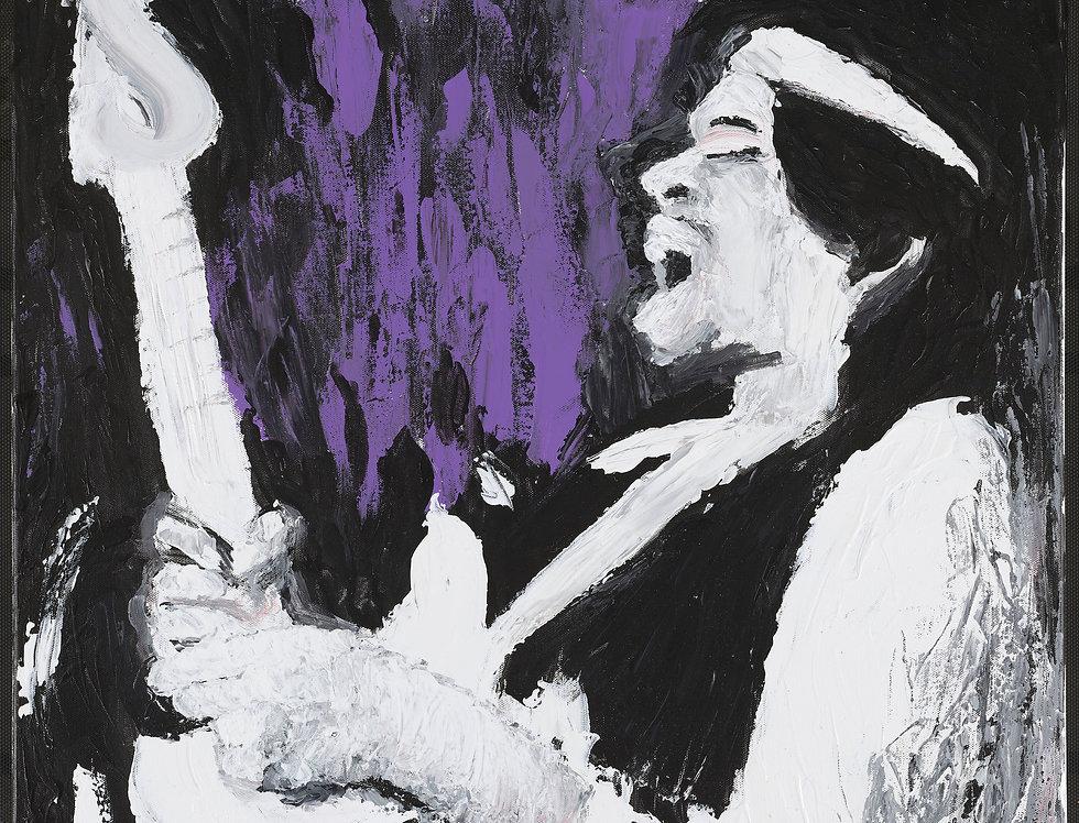 'The Haze' : Canvas Print