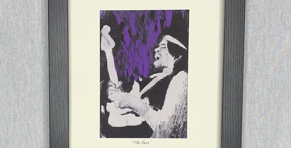 'The Haze' : 8x10 Framed Print