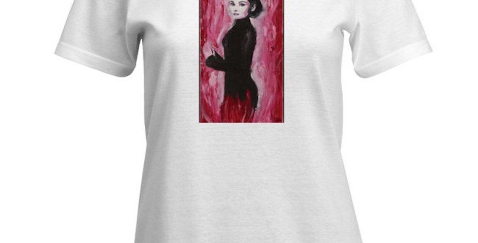 'Audrey' : Women's Cut T-Shirt