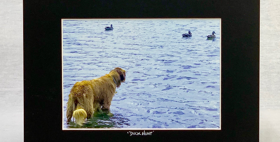 'Duck Hunt' 8x10 Matted Print