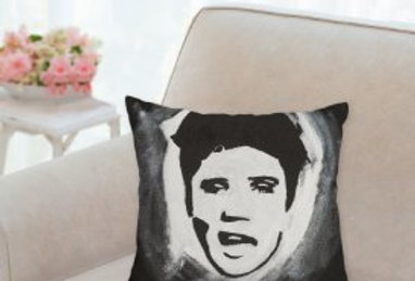 'The King' Pillow 14x14