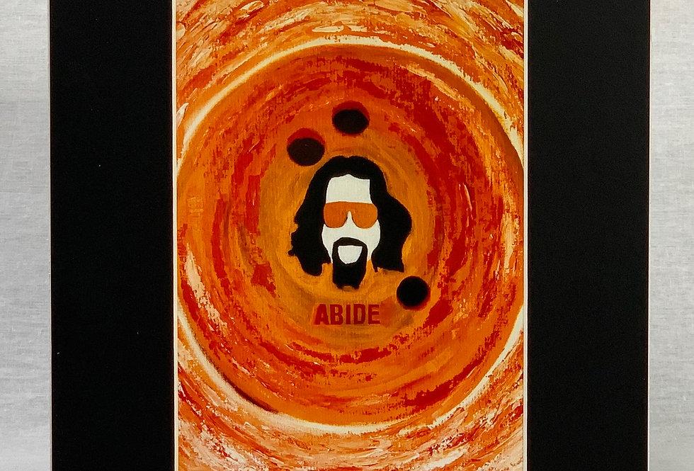 'Abide' 8x10 Matted Print