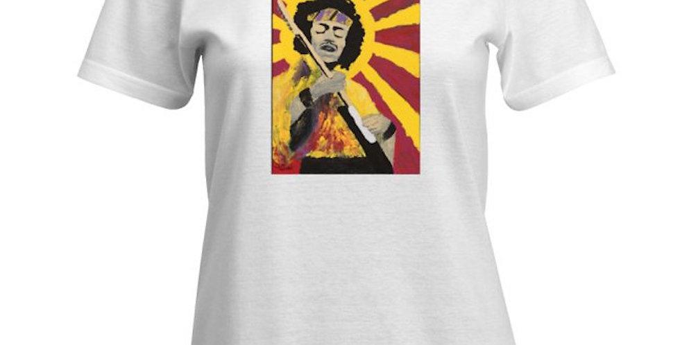 'Bold As Hendrix' : Women's Cut T-Shirt