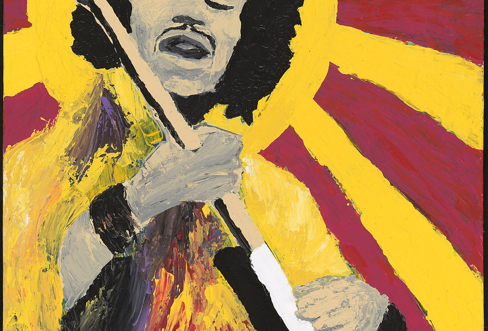 'Bold As Hendrix' : Canvas Print