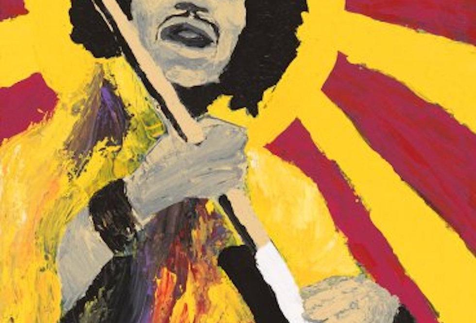 'Bold As Hendrix' : Post Card