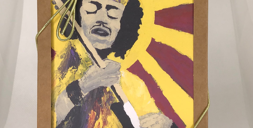 'Bold As Hendrix' :  Set of 5 Note Cards