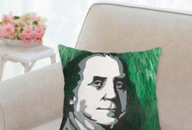 'Green is Good' Pillow 14x14