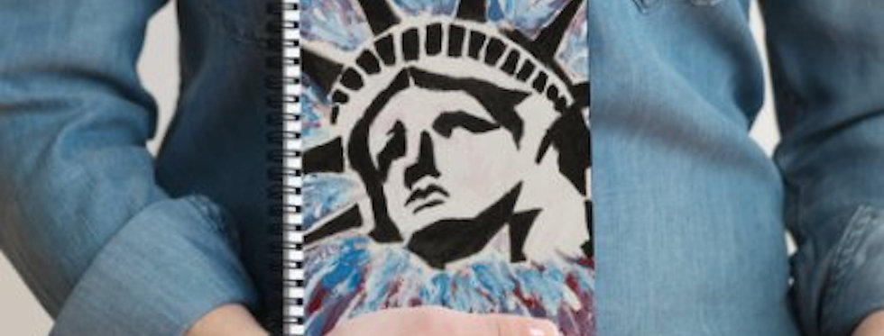 'Lady Liberty' : Notebook