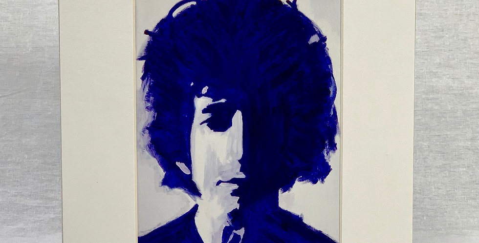 'Bob in Blue' 8x10 Matted Print