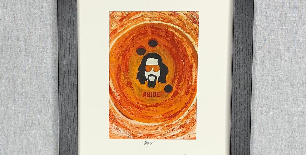 'Abide' : 8x10 Framed Print