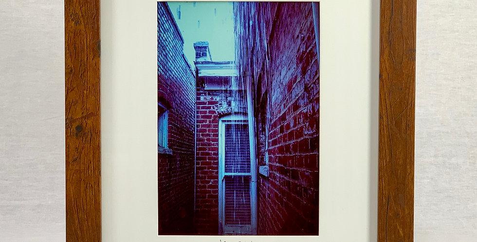 'Blue Rain' 8x10 Framed Print