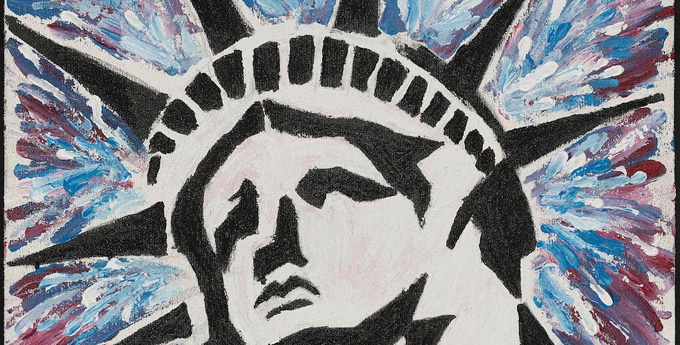 'Lady Liberty' : Canvas Print