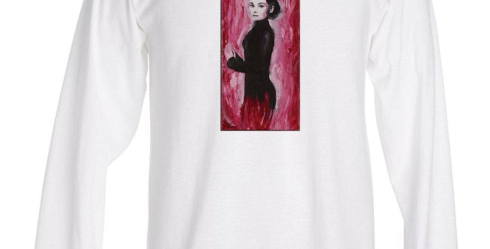 'Audrey' : Long Sleeve T-Shirt