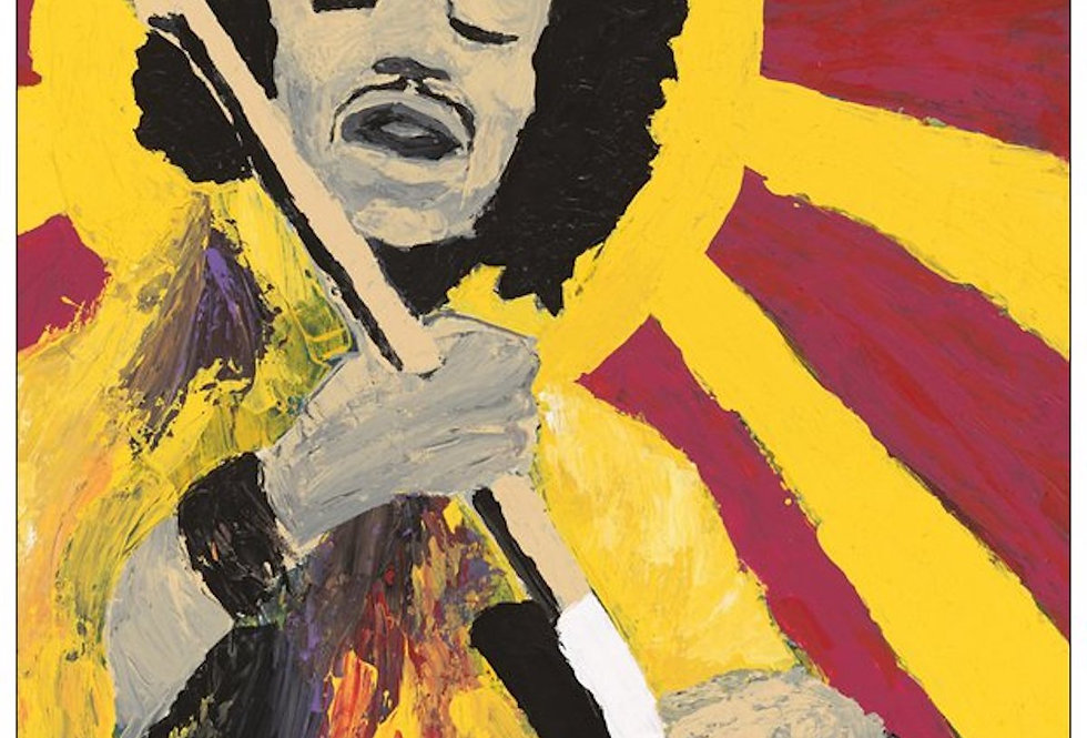 'Bold As Hendrix' : Note Card