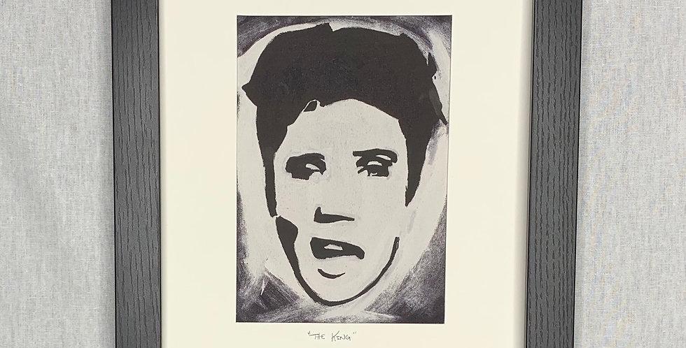'The King' : 8x10 Framed Print