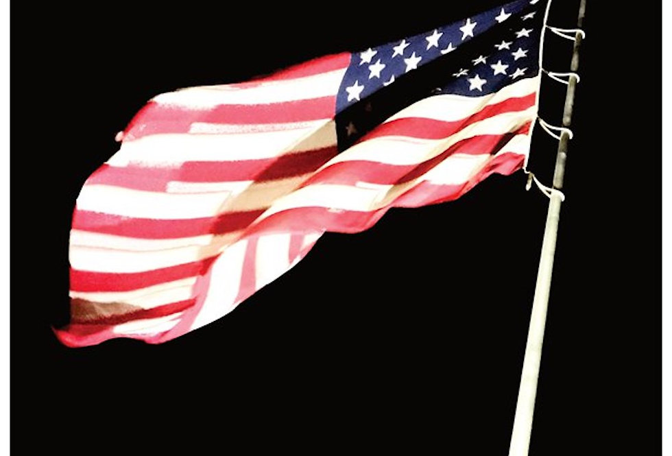 'The Stars and Stripes' : Note Card
