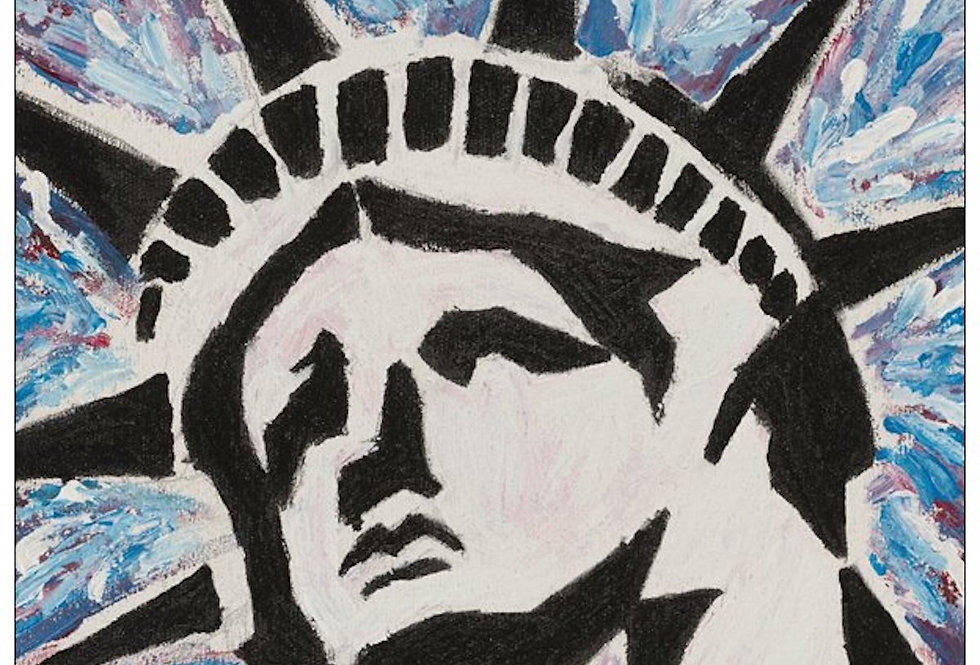 'Lady Liberty' : Note Card