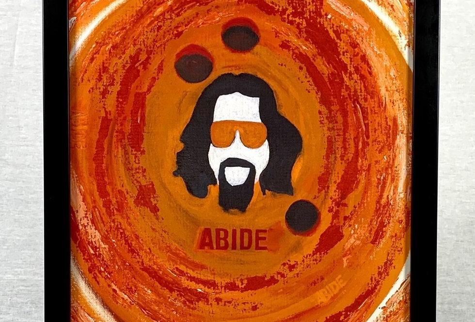 'Abide' : Framed 11x17 Print