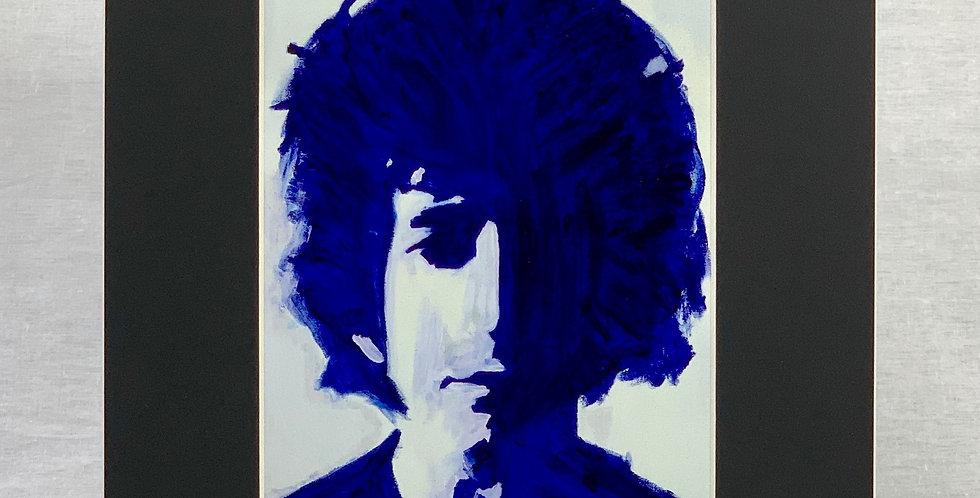 'Bob in Blue' 8x10 Matted Print