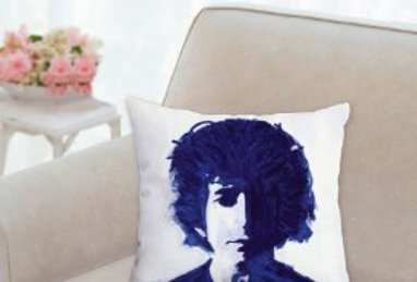 'Bob in Blue' Pillow 14x14