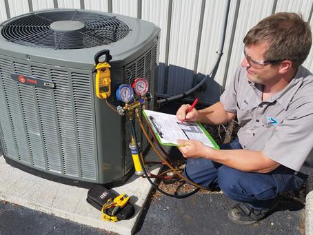 HVAC Assessment Schedule