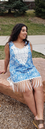 Bohemian blue dress sitting photo.jpg