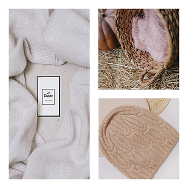 Beige Photo Collage Bed & Breakfast Inns