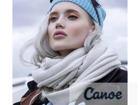 Winter luxury accessories CANOE 2019/20
