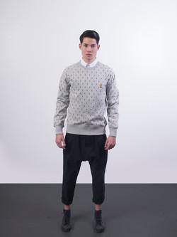 33.1443.Crewneck Sweater.Heather Grey.01.jpg